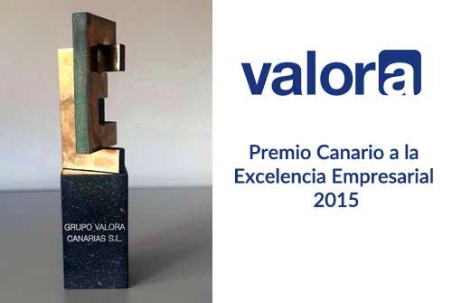 Grupo Valora, Premio a la Excelencia Empresarial
