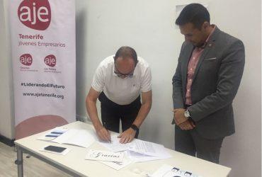 Convenio de Colaboración entre Grupo Valora y AJE Tenerife