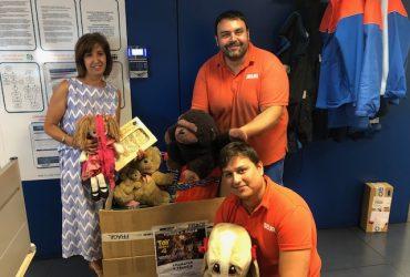 """La campaña solidaria """"Comparte y recicla"""" permite que miles de niños disfruten de nuevos juguetes"""