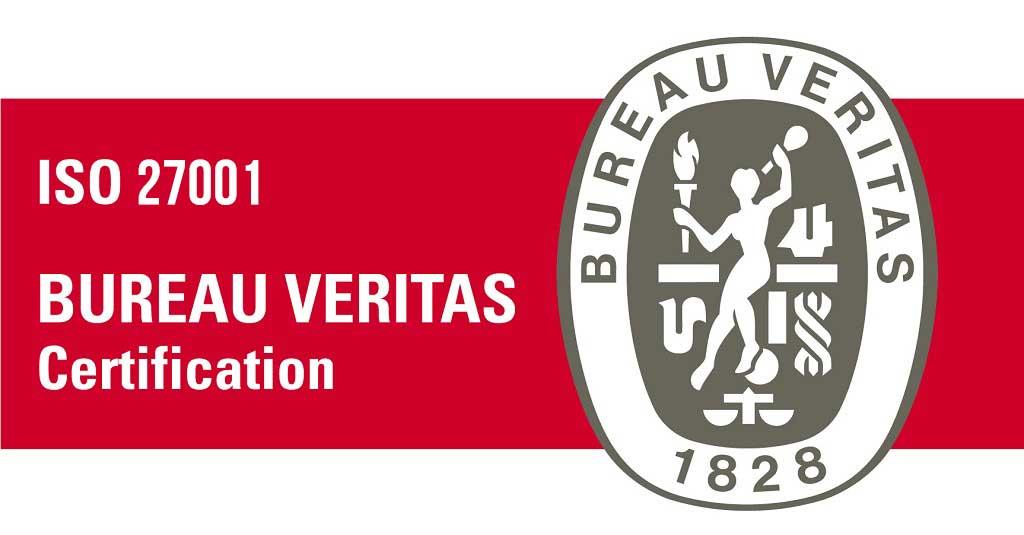 logo certificación ISO 27001