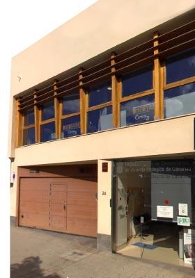 foto fachada instituto canario de la vivienda en 2014