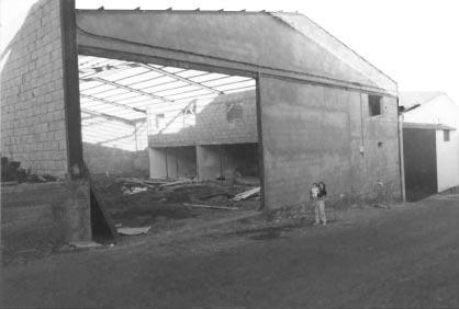 foto antigua nave de los majuelos en 1984