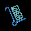 icono carretilla con cajas